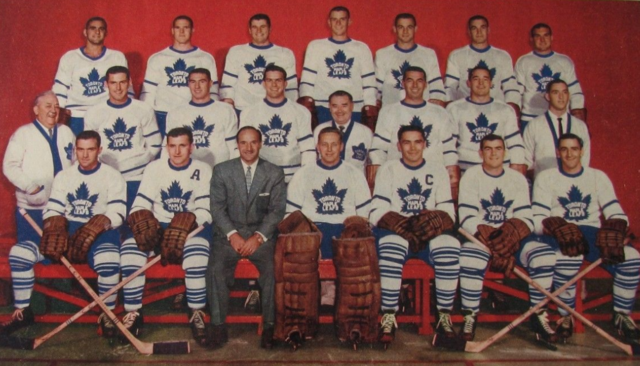 Toronto Maple Leafs Team 1957