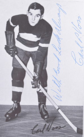 Carl Voss First Winner of the Calder Memorial Trophy in 1933