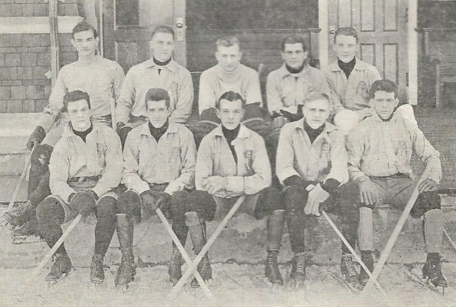Amherst College Ice Hockey Team 1909