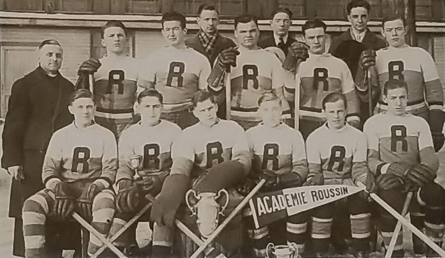 Académie Roussin Hockey Club 1937 League Champions