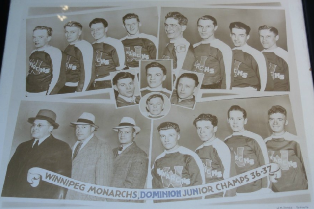 Winnipeg Monarchs 1937 Memorial Cup Champions