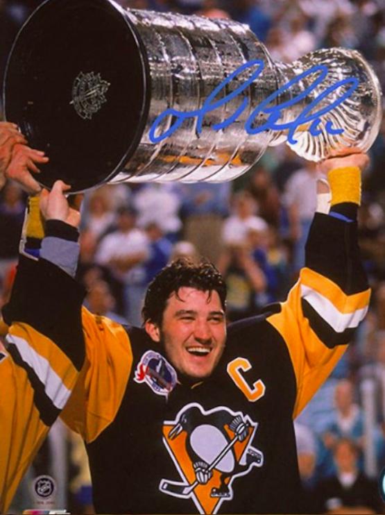 Mario Lemieux 1991 Stanley Cup Champion