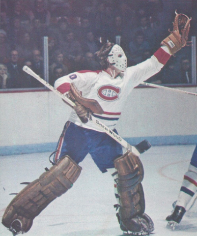 Wayne Thomas 1973 Montreal Canadiens