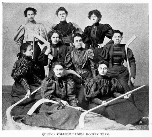 Queen's College Ladies Hockey Team 1896–97
