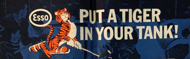 Put A Tiger In Your Tank 1966 Esso Hockey Ad