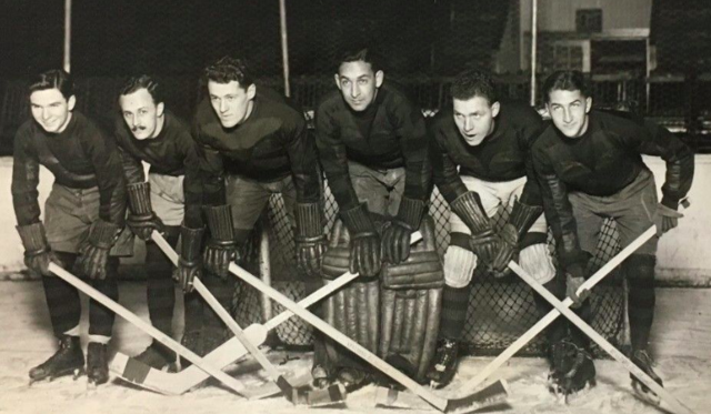 Penn Quakers Men's Ice Hockey - December,  1928
