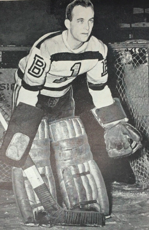 Paul Bibeault 1945 Boston Bruins