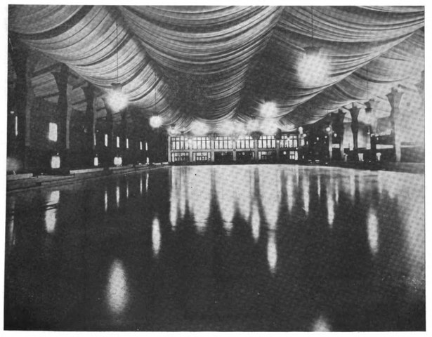 Interior of Chicago Arena 1917