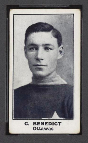 Clint Benedict Rookie Card 1912 C57