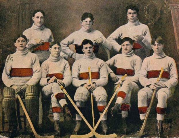 Pembroke Lumber Kings 1906 Upper Ottawa Valley Hockey League Champions