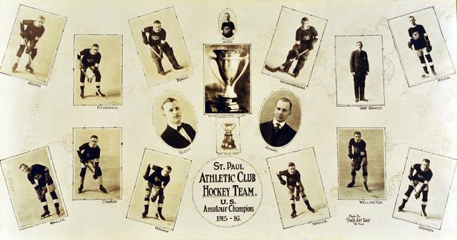 St. Paul Athletic Club 1916 MacNaughton Cup Champions