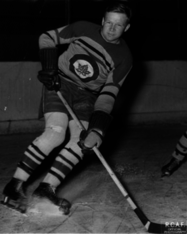 Hank Blade 1942 Ottawa RCAF Flyers Hockey Team