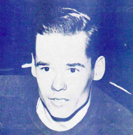 "Carl ""Cully"" Dahlstrom 1943 Chicago Black Hawks"