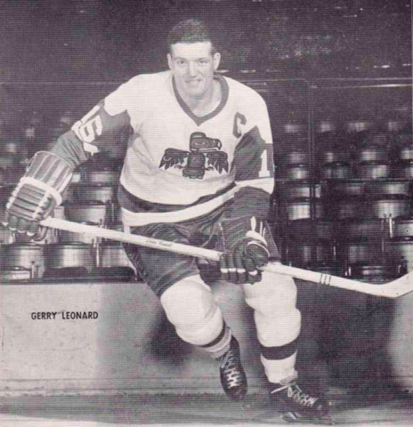 Gerry Leonard 1966 Seattle Totems Captain