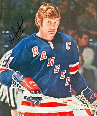 Vic Hadfield 1972 New York Rangers