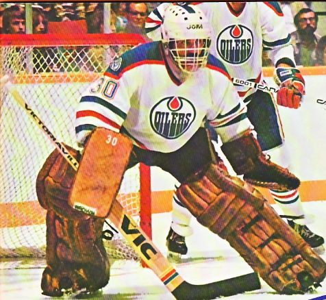 Ron Low 1981 Edmonton Oilers