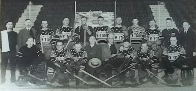 New York Americans Team Photo 1927