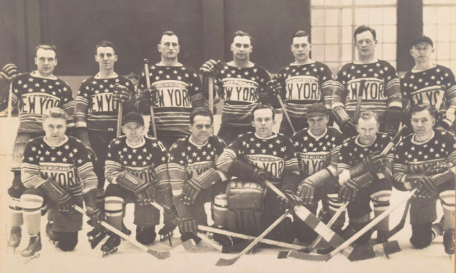 New York Americans Team Photo 1926