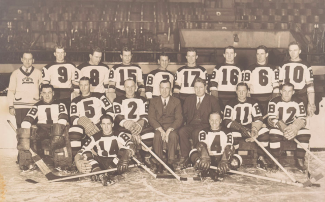 Boston Bruins Team Photo 1935