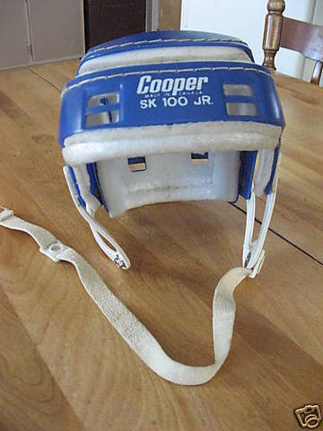 Hurling/Ice Hockey Helmet 1960s 1b