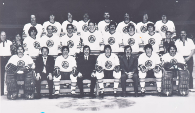 Fort Worth Texans Team Photo 1979 Central Hockey League