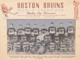 Boston Bruins 1929 Stanley Cup Champions
