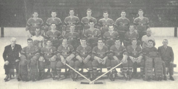 Montreal Canadiens Team Photo 1948