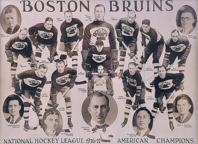 Boston Bruins 1927 NHL American Division Champions