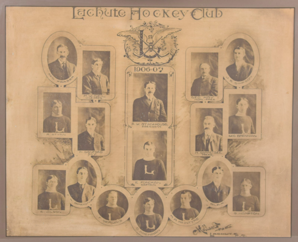 Lachute Hockey Club 1906 Quebec