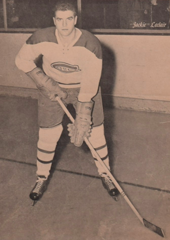 Jack LeClair 1955 Montreal Canadiens