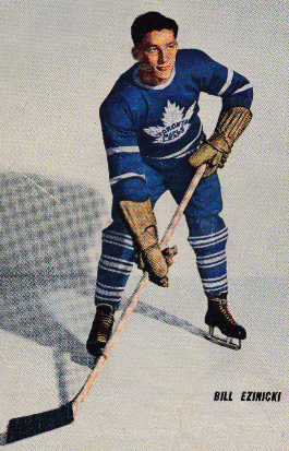 Bill Ezinicki 1946 Toronto Maple Leafs