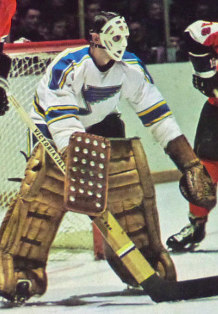 Ernie Wakely 1971 St. Louis Blues