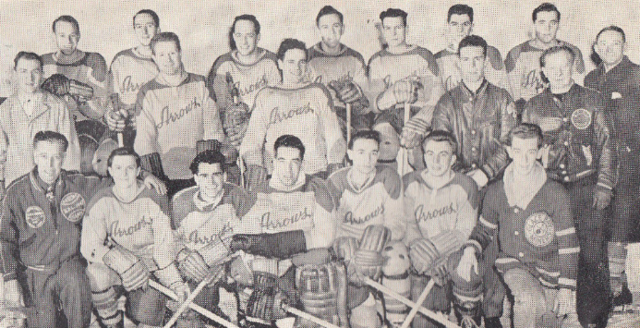Dartmouth Arrows Hockey Team 1948
