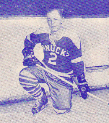 Brent MacNab 1957 Vancouver Canucks