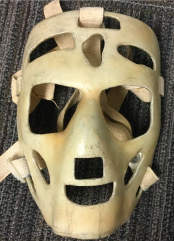 Vintage Ice Hockey Goalie Mask - Custom