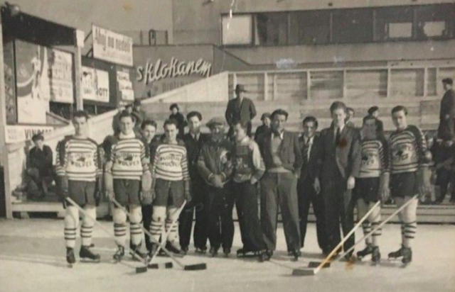 Sudbury Wolves 1938 Ice Hockey World Champions