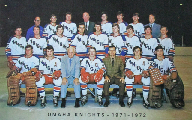 Omaha Knights Team Photo 1971