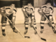 "Chuck Scherza, Don Gallinger and Armand ""Bep"" Guidolin 1943 Boston Bruins"