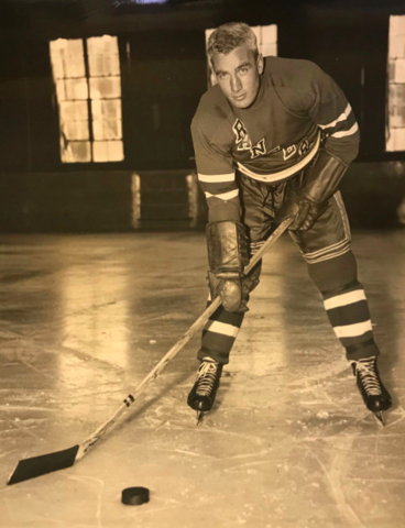 Neil Colville 1947 New York Rangers
