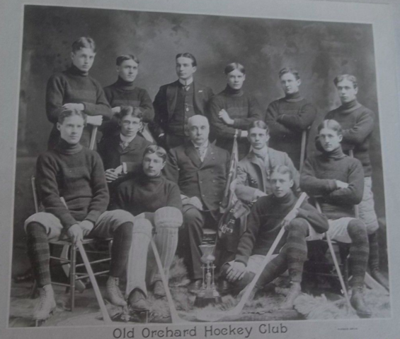 Old Orchard Hockey Club 1900 Senior Champions Toronto Lacrosse Hockey League