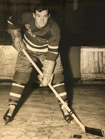 Buddy O'Connor 1947 New York Rangers