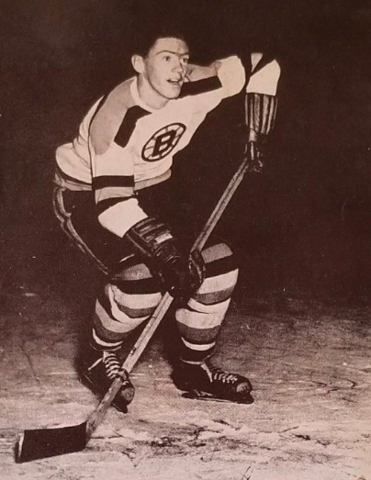 Leo Labine 1956 Boston Bruins