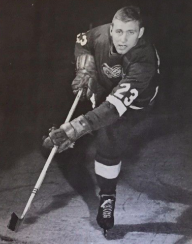 Bob Falkenberg 1967 Detroit Red Wings