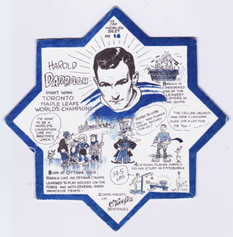 Harold Darragh O'Keefe's Coaster No.16