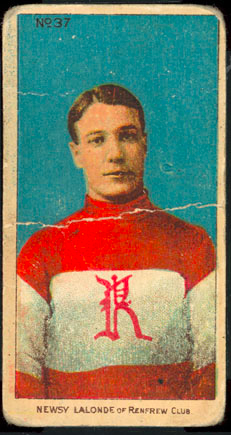 Newsy Lalonde Hockey Card 1910 C56 Imperial Tobacco #37