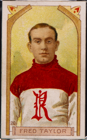 Fred Taylor Hockey Card 1911 C55 Imperial Tobacco No. 20