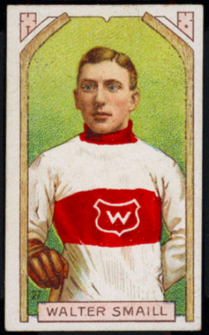 Walter Smaill Hockey Card 1911 C55 Imperial Tobacco No. 27