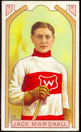 Jack Marshall Hockey Card 1911 C55 Imperial Tobacco No. 29