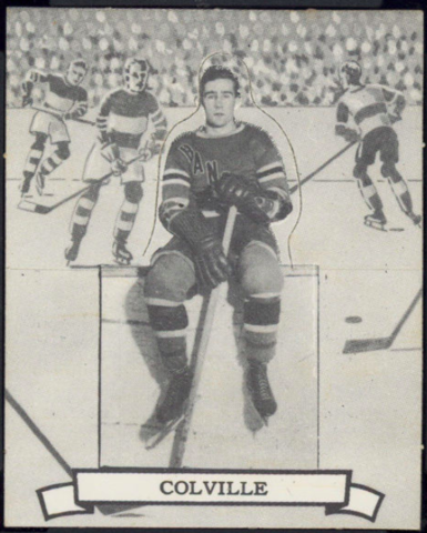 Neil Colville Hockey Card 1936 V304 O-Pee-Chee Series D No. 105