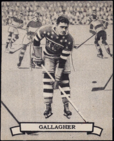 John Gallagher Hockey Card 1936 O-Pee-Chee Series D No. 108